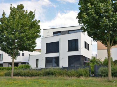 RiedbergImmobilien_freistehendes_Einfamilienhaus_Villa_am_Kaetcheslachpark_Rueckansicht